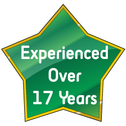 With Over 17 Years Experience